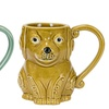 Cat or Dog Stoneware Mugs