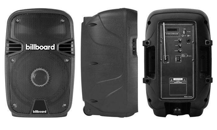 billboard Party Starter Wireless Bluetooth Speaker   Groupon