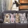 LiLiPi Kitten-Shaped Accent Pillow