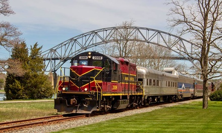 Scenic Cape Cod Tour for Two or Four on the Coastal Excursion from Cape Cod Central Railroad (Up to 32% Off)
