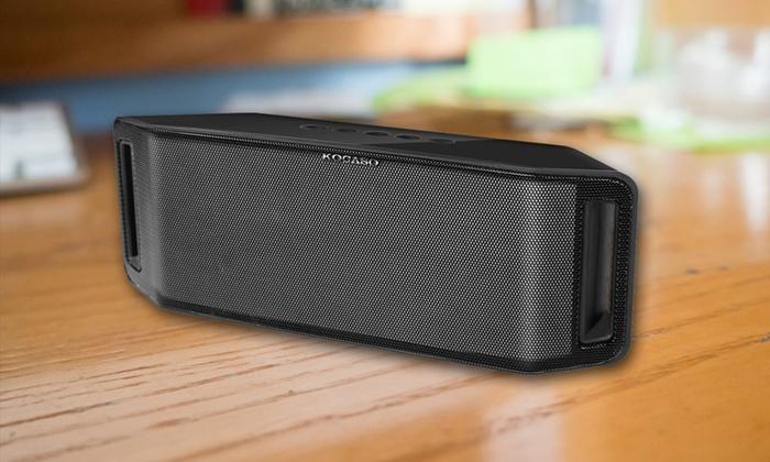 Up To 68 Off On Kocaso Bluetooth Speaker Livingsocial Shop