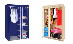 Canvas Storage Wardrobe