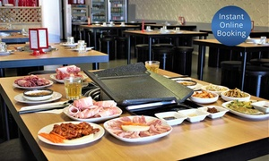 GO-JJI: Korean Pork or Beef Barbecue Banquet for Two ($39) or Four People ($75) at GO-JJI (Up to $152 Value)