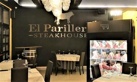 Raffinata cena da El Parillero a 59,90€euro