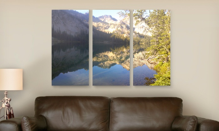 """Canvas On Demand Triptych Photosplits: 36""""x24"""" or 45""""x30"""" Triptych Photosplit from Canvas On Demand (Up to 79% Off). Free Shipping."""