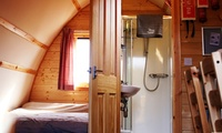 Chepstow: 1 or 2 Nights for Two in Ensuite Deluxe Wigwam and for up to Five in Standard Wigwam with Wigwam at NDAC