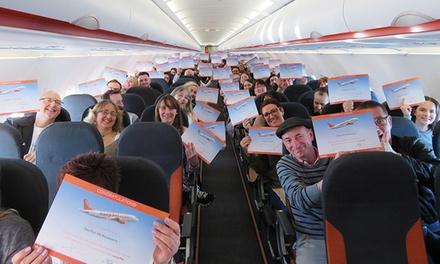 """Onlinekurs Programm """"Flugangst überwinden"""", optional mit Hörbuch, bei easyJet Fearless Flyer (bis zu 30% sparen*)"""