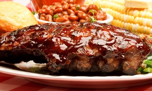 Clarks BBQ: Barbecue at Clarks BBQ (Up to 40% Off). Three Options Available.