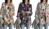 Women's Cotton-Lined Floral Blouse