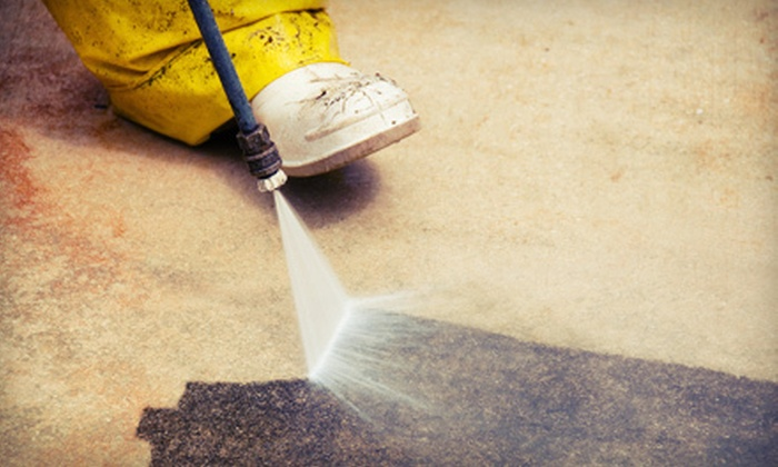Mr. Powerwash - Baltimore: Home Power Washing or Complete Deck Power Wash from Mr. Powerwash in Bel Air (Up to 58% Off)