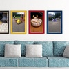 Print Your Team on Framed Custom Canvas – Up to 92% Off