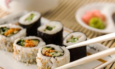 Onbeperkt sushi en teppanyaki bij Lotus Sakura in Heerenveen