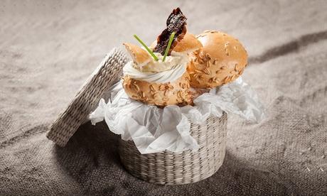 Catering para 12 o 24 personas de 120 o 240 piezas desde 49,95 € con Desayunos con encanto