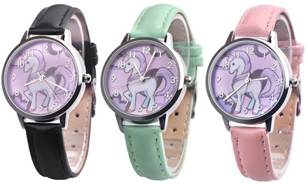 Kids' Unicorn Wrist Watch