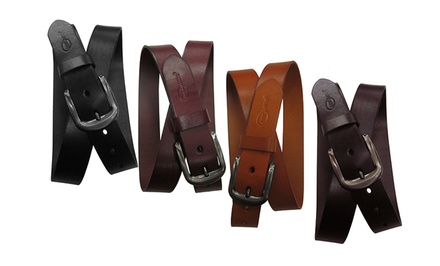 Amerileather Men's Leather Belts. Multiple Colors Available.