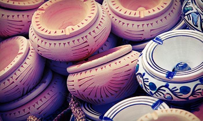 Clay Cafe - Grandview Heights: $15 for BYOB Paint Your Own Pottery Session at Clay Café (Up to $30 Value)