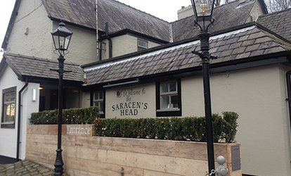 Afternoon Tea for Two Plus Optional Bottle of Prosecco at Saracens Head Warburton