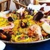 1 kg di paella di pesce con vino