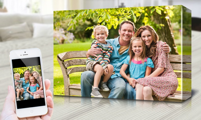 "Fabness: Personalized 12""x18"" Canvases from Fabness (Up to 80% Off)"