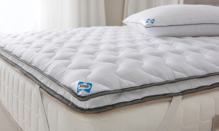 Sealy Dual Layer Mattress Topper Groupon
