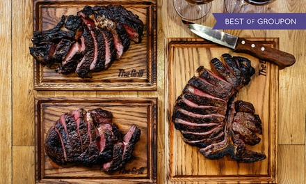 Premium ThreeCourse Meal Including Steak with Wine for One or Two at McQueen Shoreditch