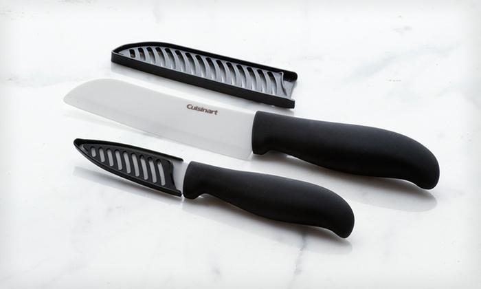 Cuisinart Ceramic Knives: $9.99 for a Cuisinart Ceramic Knives Set ($39.98 List Price). Free Returns.
