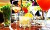 Cocktail-Wagen zum Selbermixen