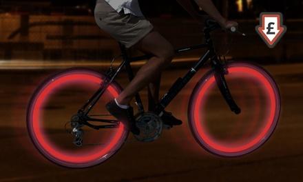 FourLED Bike Wheel Lights for £2.98