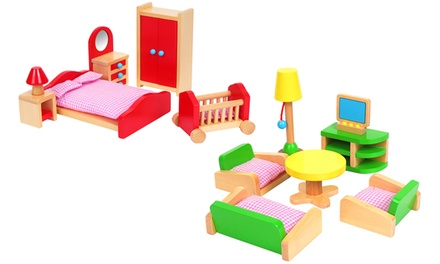 Lelin Wooden Room Sets
