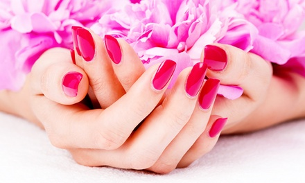Shellac Gel Polish Manicure $25 Shellac Gel Polish Pedicure + Scrub $35 or Both $55 at Nature Country Up to $110