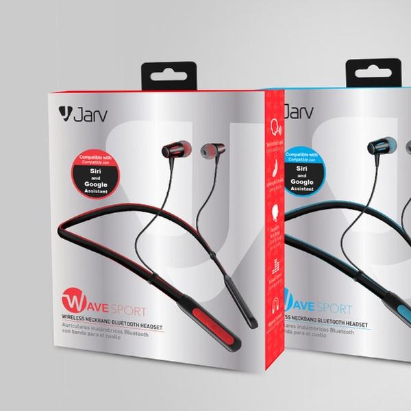 Jarv Wave Sports Wireless Bluetooth Neckband Headset
