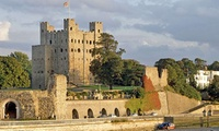 Tickets for Two Adults or a Family of Five to Rochester Castle (Up to 46% Off)