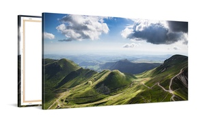Picanova: Stampa personalizzata su tela panoramica disponibile in varie misure offerto da Picanova (fino a 76% di sconto)
