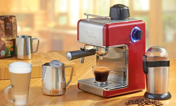 Cooks Coffee Maker Not Working : Cooks Professional Espresso Maker Groupon Goods