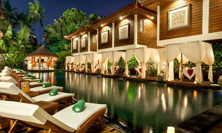 Bali, Legian: 3, 5, or 7Night Exotic Getaway for Two with Dinner, Beer, and Massage at the 4* Astagina Resort and Spa