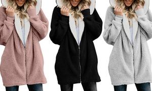 (Mode)  Veste polaire à capuche -38% réduction