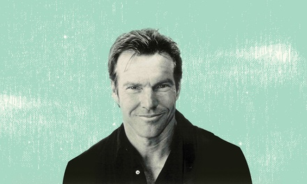 Dennis Quaid and the Sharks on Sunday, October 1 at 7:30 p.m.
