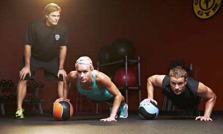 One-Month Membership with Two 60-Minute Personal-Training Sessions for One or Two at Gold's Gym Seattle (Up to 94% Off)