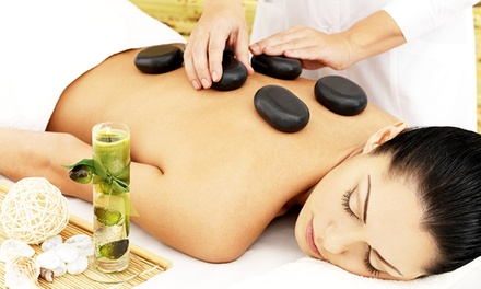 Three Massages or One Massage with Optional Facial and Mani-Pedi at H.I. Salon & Spa (Up to 54% Off)