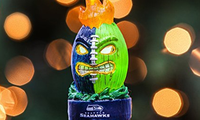 555aa514 Up To 33% Off on NFL Lit Tiki Ball Ornament | Groupon Goods