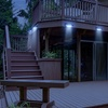 LED Concepts 16-LED Motion-Activated Solar Outdoor Light