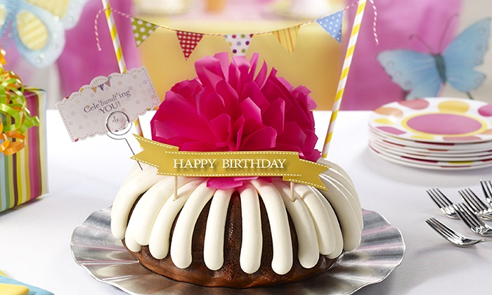 Astonishing Bundt Cakes Nothing Bundt Cakes Groupon Funny Birthday Cards Online Elaedamsfinfo