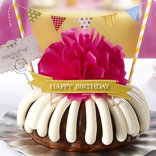 Enjoyable Bundt Cakes Nothing Bundt Cakes Groupon Personalised Birthday Cards Akebfashionlily Jamesorg