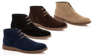 Adolfo Colin Men's Lace-up Chukka Boots (Sizes 10.5, 11, 11.5)