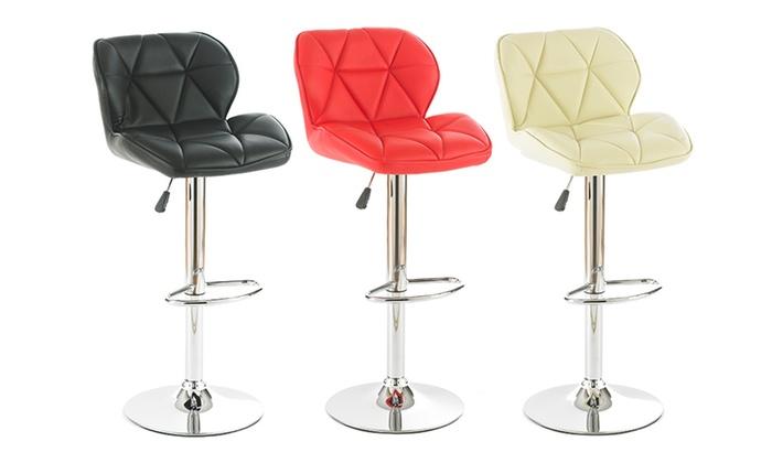 Groupon Goods Global GmbH: Two, Four or Six Diamond Bar Stools