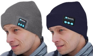 Unisex Bluetooth Beanie Hat