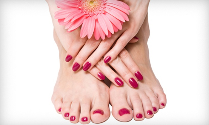 Oasis Wellness Centre & Spa - Calgary: Oasis Signature Mani-Pedi or $25 for $50 Worth of Spa Services at Oasis Wellness Centre & Spa