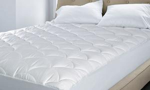 Royal Luxe Cotton Damask Dot Mattress Pad