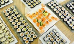 La esquina del Sushi: Desde $289 por tabla de 32 o 64 piezas de sushi con opción a botella de espumante en La Esquina del Sushi