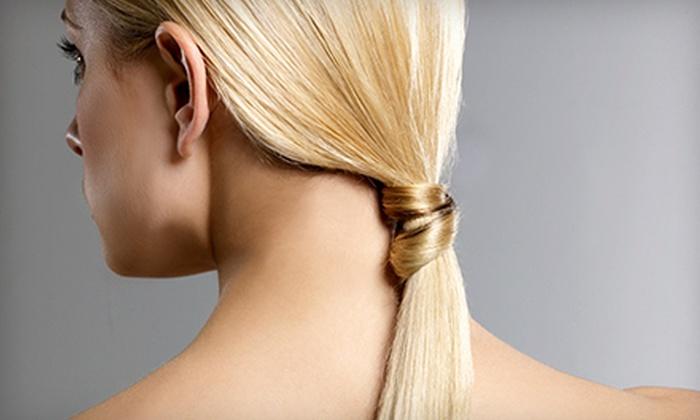 Salon Monte Carlo - Salon Monte Carlo: Keratin Express Treatment with Optional Haircut at Salon Monte Carlo (Up to 51% Off)